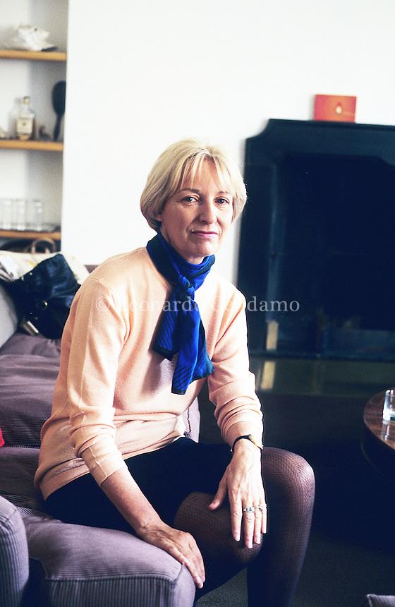 Ginevra Bompiani, writer, editor,  © Leonardo Cendamo