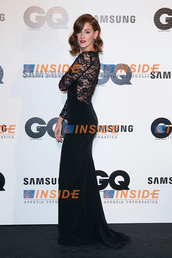 "Ana Polvorosa attends the ""GQ AWARDS"" at Palace Hotel in Madrid, Spain. November 3, 2014. (ALTERPHOTOS/Carlos Dafonte/Insidefoto)"