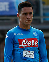 Jose Callejon  of Napoli during a preseason friendly soccer match against Aunania in Dimaro's Stadium   12 July 2017
