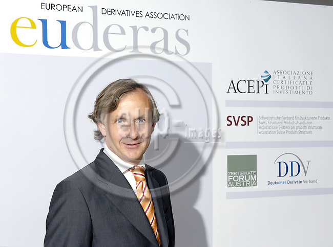 Brussels-Belgium, 02 July 2008 -- Foundation and formation of euderas - the European Derivatives Association; here, President Siegfried PIEL -- Photo: Horst Wagner / eup-images