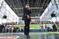 SÃO PAULO, SP, 01 DE MAIO DE 2013 - 1º DE MAIO UNIFICADO - DIA DO TRABALHO: Show Leonardo durante festa do 1º de Maio Unificado, organizado pelas centrais sindicais Força Sindical, CTB, UGT e Nova Central para comemorar o Dia do Trabalhador na manhã desta quarta feira (01) na Praça Campo de Bagatelle, em Santana, Zona Norte da Capital. FOTO: LEVI BIANCO - BRAZIL PHOTO PRESS