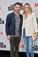 "LOS ANGELES, USA. June 04, 2019: Jimmy Kimmel & Molly McNearney at the premiere for ""The Black Godfather"" at Paramount Theatre.<br /> Picture: Paul Smith/Featureflash"