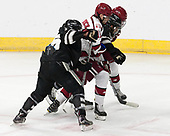 Robbie Hennessey (PC - 25), Ty Pelton-Byce (Harvard - 11), Kyle McKenzie (PC - 5), Michael Floodstrand (Harvard - 44) - The Harvard University Crimson defeated the Providence College Friars 3-0 in their NCAA East regional semi-final on Friday, March 24, 2017, at Dunkin' Donuts Center in Providence, Rhode Island.