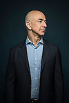 Amazon.com CEO Jeff Bezos photographed in Seattle ahead of the company's 20th anniversary. Photo by Daniel Berman/www.bermanphotos.com