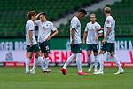#wb0ß8, Maximilian Eggestein (Werder Bremen #35), Theodor Gebre Selassie (Werder Bremen #23), Niclas Füllkrug / Fuellkrug (Werder Bremen #11), Kevin Vogt (Werder Bremen  #03)<br /> <br /> <br /> Sport: nphgm001: Fussball: 1. Bundesliga: Saison 19/20: 34. Spieltag: SV Werder Bremen vs 1.FC Koeln  27.06.2020<br /> <br /> Foto: gumzmedia/nordphoto/POOL <br /> <br /> DFL regulations prohibit any use of photographs as image sequences and/or quasi-video.<br /> EDITORIAL USE ONLY<br /> National and international News-Agencies OUT.