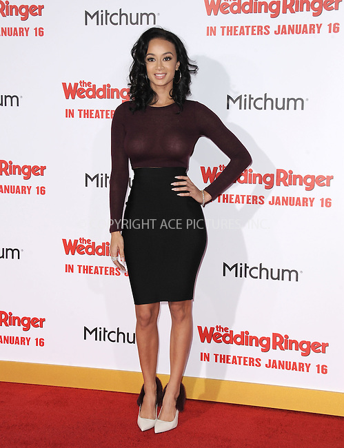 WWW.ACEPIXS.COM<br /> <br /> January 6 2015, LA<br /> <br /> Draya Michele arriving at 'The Wedding Ringer' World Premiere at the TCL Chinese Theatre on January 6, 2015 in Hollywood, California. <br /> <br /> <br /> By Line: Peter West/ACE Pictures<br /> <br /> <br /> ACE Pictures, Inc.<br /> tel: 646 769 0430<br /> Email: info@acepixs.com<br /> www.acepixs.com