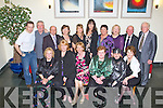 DANCING FUN: Enjoying a great time at the Kilflynn Dancing Group annual social at the Ballyroe Heights hotel on Friday seated l-r: Philomena Ryan, Anne Smithers, Eilen Kelligher, Eileen Keating, Mary McCord-Kelly and Kathleen Clifford. Back l-r: Declan McQuinn, Robert Kelly, John Keating, Catherine Hagan, Lily Moore, Margaret \Mansfield, Bridie Mulrennan, Anne Sinnott, Eamon Long and Tadgh Hanlon.