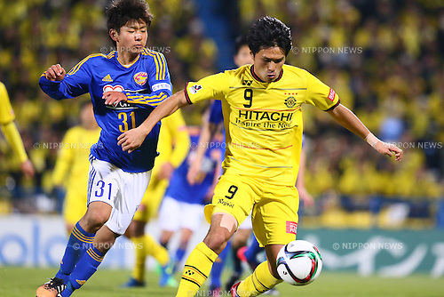 Masato Kudo (Reysol),<br /> MARCH 13, 2015 - Football / Soccer : <br /> 2015 J1 League 1st stage match between<br /> Kashiwa Reysol 1-1 Vegalta Sendai<br /> at Hitachi Kashiwa Stadium in Chiba, Japan.<br /> (Photo by Shingo Ito/AFLO SPORT)