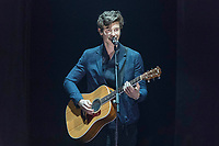 Shawn Mendes performs during the show of the 2017 MTV Europe Music Awards, EMAs, at SSE Arena, Wembley, in London, Great Britain, on 12 November 2017. Photo: Hubert Boesl <br />