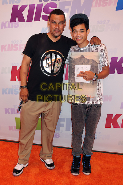 Roy Fegan, Roshon Fegan.at KIIS FM's Wango Tango 2013 held at The Home Depot Center, Carson, California, USA, 11th May 2013..arrivals full length .CAP/ADM/BP.©Byron Purvis/AdMedia/Capital Pictures