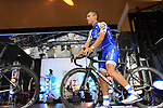 Philippe Gilbert (BEL) Quick-Step Floors team on stage at the Team Presentation in Burgplatz Dusseldorf before the 104th edition of the Tour de France 2017, Dusseldorf, Germany. 29th June 2017.<br /> Picture: Eoin Clarke | Cyclefile<br /> <br /> <br /> All photos usage must carry mandatory copyright credit (&copy; Cyclefile | Eoin Clarke)