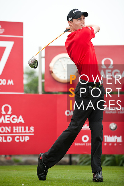 Action during day 1 of The 56th World Cup of Golf 2011 - Held at Mission Hills - China - Photo by © Victor Fraile / The Power of Sport Images