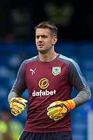 Burnley's Thomas Heaton during the pre-match warm-up <br /> <br /> Photographer Craig Mercer/CameraSport<br /> <br /> The Premier League - Chelsea v Burnley - Saturday August 12th 2017 - Stamford Bridge - London<br /> <br /> World Copyright &copy; 2017 CameraSport. All rights reserved. 43 Linden Ave. Countesthorpe. Leicester. England. LE8 5PG - Tel: +44 (0) 116 277 4147 - admin@camerasport.com - www.camerasport.com