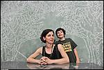 Inaugurazione della mostra di ADA MASCOLO, DELFINA DE PIETRO e MARIA CROCCO al B.A.R.L.U.I.G.I. Bottega Aperta di via Cervino a Torino. Giugno 2013