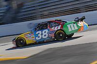 Mar 30, 2007; Martinsville, VA, USA; Nascar Nextel Cup Series driver David Gilliland (38) during practice for the Goody's Cool Orange 500 at Martinsville Speedway. Martinsville marks the second race for the new car of tomorrow. Mandatory Credit: Mark J. Rebilas