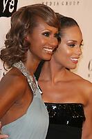 Iman & Alicia Keys<br /> 2007<br /> Photo By John Barrett/CelebrityArchaeology.com