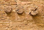 Pueblo Bonito ruins..Chaco Culture National Historical Park