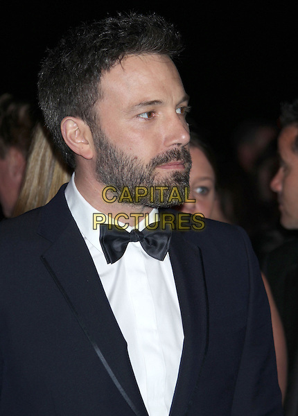 Ben Affleck.24th Annual Palm Springs International Film Festival Awards Gala held at at Palm Springs Convention Center, Palm Springs, California, USA,.5th January 2013..headshot portrait black tuxedo tux bow tie beard facial hair profile .CAP/ADM/RE.©Russ Elliot/AdMedia/Capital Pictures.