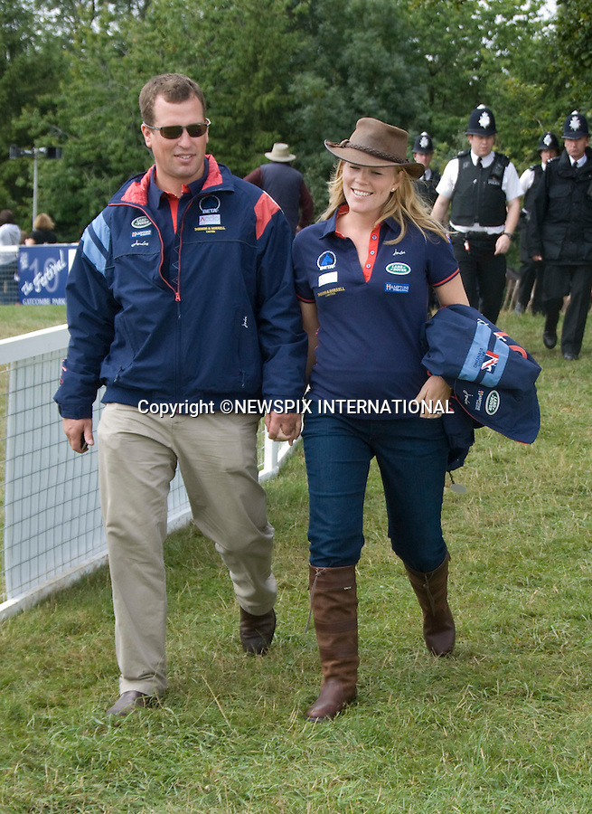 """PETER PHILLIPS AND HEAVILY PREGNANT AUTUMN KELLY_.at the Gatcombe Horse Trials, Gatcombe_07/10/2010.The baby, the Queen's first great- grandchild is expected to be born this winter..Mandatory Credit Photo: ©NEWSPIX INTERNATIONAL..**ALL FEES PAYABLE TO: """"NEWSPIX INTERNATIONAL""""**..IMMEDIATE CONFIRMATION OF USAGE REQUIRED:.Newspix International, 31 Chinnery Hill, Bishop's Stortford, ENGLAND CM23 3PS.Tel:+441279 324672  ; Fax: +441279656877.Mobile:  07775681153.e-mail: info@newspixinternational.co.uk"""