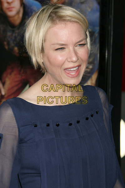 "RENEE ZELLWEGER .""Leatherheads"" World Premiere held at Grauman's Chinese Theatre, Hollywood, California, USA,.31 March 2008..portrait headshot blue.CAP/ADM/RE.©Russ Elliot/Admedia/Capital PIctures"