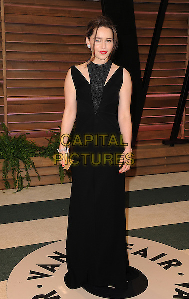 WEST HOLLYWOOD, CA - MARCH 2: Emilia Clarke arrives at the 2014 Vanity Fair Oscar Party in West Hollywood, California on March 2, 2014.<br /> CAP/MPI<br /> &copy;MPI213/MediaPunch/Capital Pictures