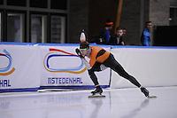 SCHAATSEN: LEEUWARDEN: 09-10-2015, Elfstedenhal, Training topsport, Haralds Silovs, ©foto Martin de Jong