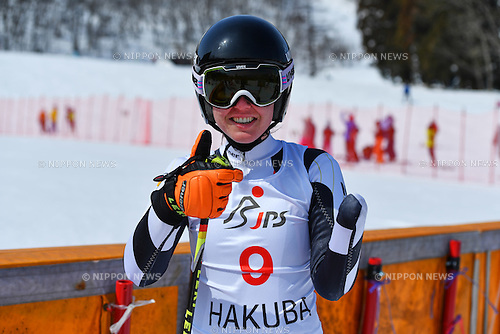 Andrea Rothfuss (GER), <br /> MARCH 5, 2017 - Alpine Skiing :<br /> IPC Alpine World Cup Hakuba,<br /> Women's Giant Slalom <br /> Standing LW6/8-2 <br /> at Hakuba Happo One, Nagano Japan.<br /> (Photo by AFLO SPORT)