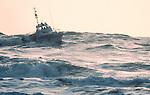 US Coast Guard 44 foot life boat, La Push, Washington State, Pacific Coast, Olympic Coast National Marine Sanctuary, Pacific Ocean, North America,.