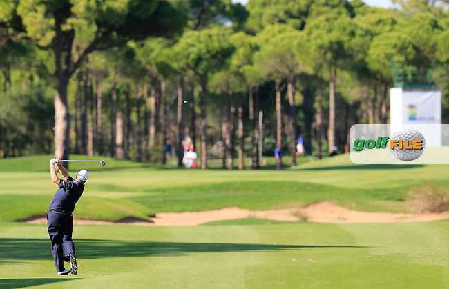 Shane LOWRY (IRL) during round 2 of the Turkish Airlines Open presented by the Ministry of Tourism and Culture, hosted at the The Montgomerie Maxx Royal,Antalya,Turkey.<br /> Picture: Fran Caffrey www.golffile.ie