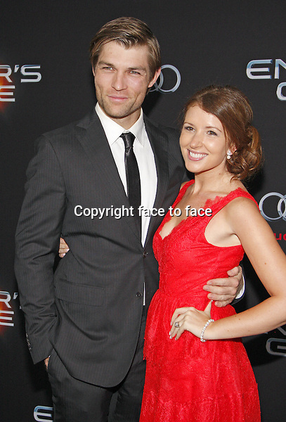 Liam McIntyre at the Los Angeles Premiere of &quot;Ender's Game&quot; held at the TCL Chinese Theater in Hollywood on October 28, 2013 in Los Angeles, California.<br /> Credit: PopularImages/face to face