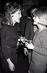 Candice Earley attending a party for the Miracle Publishing Company on February 1, 1984 in New York City.