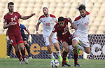 Nejmah vs Al Jaish during the 2015 AFC Cup 2015 Group D match on May 13, 2015 at the Saida Municipal Stadium in Saida, Lebanon. Photo by Adnan Hajj / World Sport Group