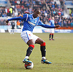 Sone Aluko twists and turns over the ball