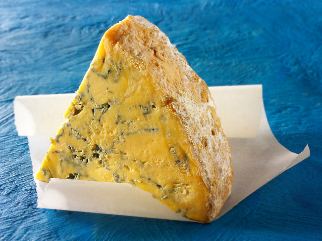 Blue Shropshire Cheese. British Blue Cheese Photos- Funky Stock Photos