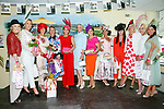 Enjoying  Ladies Day at Listowel Summer Race meeting on Sunday were Edwina Barrett, Lisa Martin, Mary Kelliher, Mags Healy, Shin Hayes, Margaret Hines, Cathy Dillon, Grace Flynn, Gretta Peters, Diane Jeffers, Sarah Leane and Mary Wolf