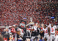 Ohio State Buckeyes against Alabama Crimson Tide in the Allstate Sugar Bowl college football Playoff Semifinal game against Alabama Crimson Tide at the Mercedes-Benz Superdome in New Orleans, Louisiana on January 1, 2015.  (Dispatch photo by Kyle Robertson)