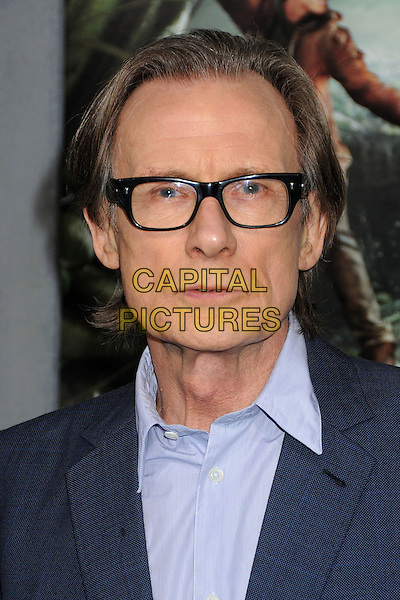 "Bill Nighy.""Jack The Giant Slayer"" Los Angeles Premiere held at Grauman's Chinese Theatre, Hollywood, California, USA..February 26th, 2013.headshot portrait blue shirt jacket glasses .CAP/ADM/BP.©Byron Purvis/AdMedia/Capital Pictures."