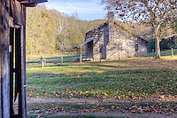 The Parker-Hickman Homestead along the Buffalo National River in Arkansas is listed on the National Register of Historic Places.
