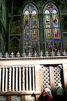 Affreschi di Giovanni da Modena nella Basilica di San Petronio a Bologna.<br /> Frescoes by Giovanni da Modena in St. Petronio's Basilica, Bologna.<br /> UPDATE IMAGES PRESS/Riccardo De Luca