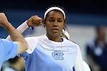 05 November 2014: North Carolina's Erika Johnson. The University of North Carolina Tar Heels hosted the Carson-Newman University Eagles at Carmichael Arena in Chapel Hill, North Carolina in an NCAA Women's Basketball exhibition game. UNC won the game 88-27.