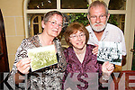 SCHOOLS OUT:  Organisers of the Bouleenshere National School reunion of pupils who attended the school in the 1940s, 50s and 60s checking out some of the old photographs that will be on display at the function on September 7th..L/r. Kitty Lawlor Cooley, Noreen Casey McLoughlin and Joe O'Sullivan...