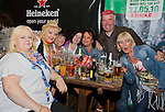 Samba Mamas with Kieran Gallagher for the Samba Orchestra in McPhails..Picture: Shane Maguire / www.newsfile.ie.