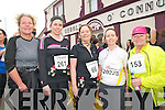Ballybunion Road Race : Taking part in  the annual Ballybunion 10K & half marathon race held in Ballybunion on Saturday were Helen O'Driscoll, Dublin, Lorraine Bowler, Killarney, Ina McGrath, Tralee, Marie McaCarthy, Ballybunion & Catriona O'Sullivan, Tralee.