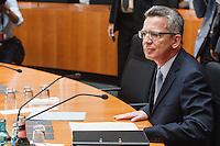 13-07-31 Bundestag de Maiziere vor Untersuchungsausschuss