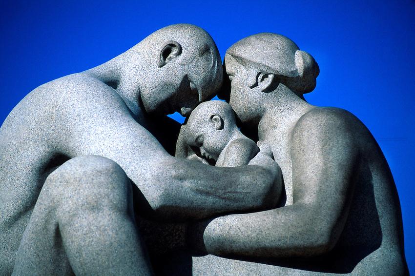 """The Monolith"", Vigeland Sculpture Park, Frogner Park, Oslo, Norway"