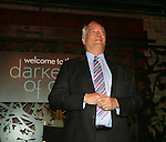 Viscount Monckton of Brenchley attends The Darker Side of Green debate series moderated by Tracey Morgan at the The Bowery Hotel, NY 7/27/10