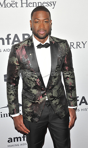 NEW YORK, NY - JUNE 9: Dwyane Wade attends the 7th Annual amfAR Inspiration Gala at Skylight at Moynihan Station on June 9, 2016 in New York City.. Credit: John Palmer / MediaPunch