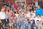 Birthday Boy - Martin O'Connor from Ballyduff, seated centre having a ball with friends and family at his 21st birthday bash held in Lowe's Bar, Ballyduff on Saturday night.