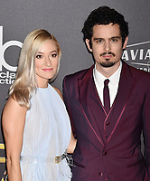 BEVERLY HILLS, CA - NOVEMBER 04: Olivia Hamilton (L) and Damien Chazelle arrive at the 22nd Annual Hollywood Film Awards at the Beverly Hilton Hotel on November 4, 2018 in Beverly Hills, California.<br /> CAP/ROT/TM<br /> &copy;TM/ROT/Capital Pictures