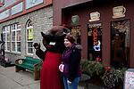 Seen in Punxsutawney, Pennsylvania following Punxsutawney Phil's prediction for a longer winter February 2, 2012.